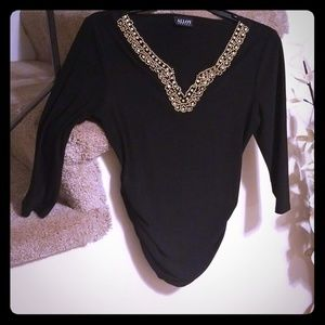 Alloy Apparel black top Size small